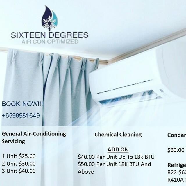 Air con servicing ($10)
