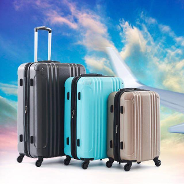 📌AIRWALK LUGGAGE - 飛翔系列 輕量防撞ABS硬殼行李箱 - 3色