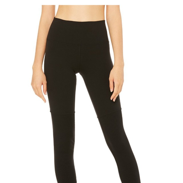 a48d844c99 Alo yoga High waist goddess leggings in black XXS, Sports, Sports ...