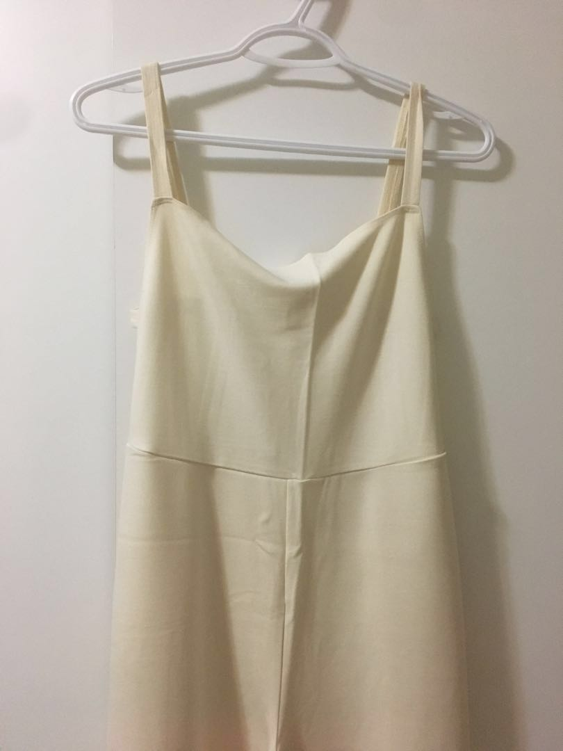 American Apparel Backless Jumpsuit