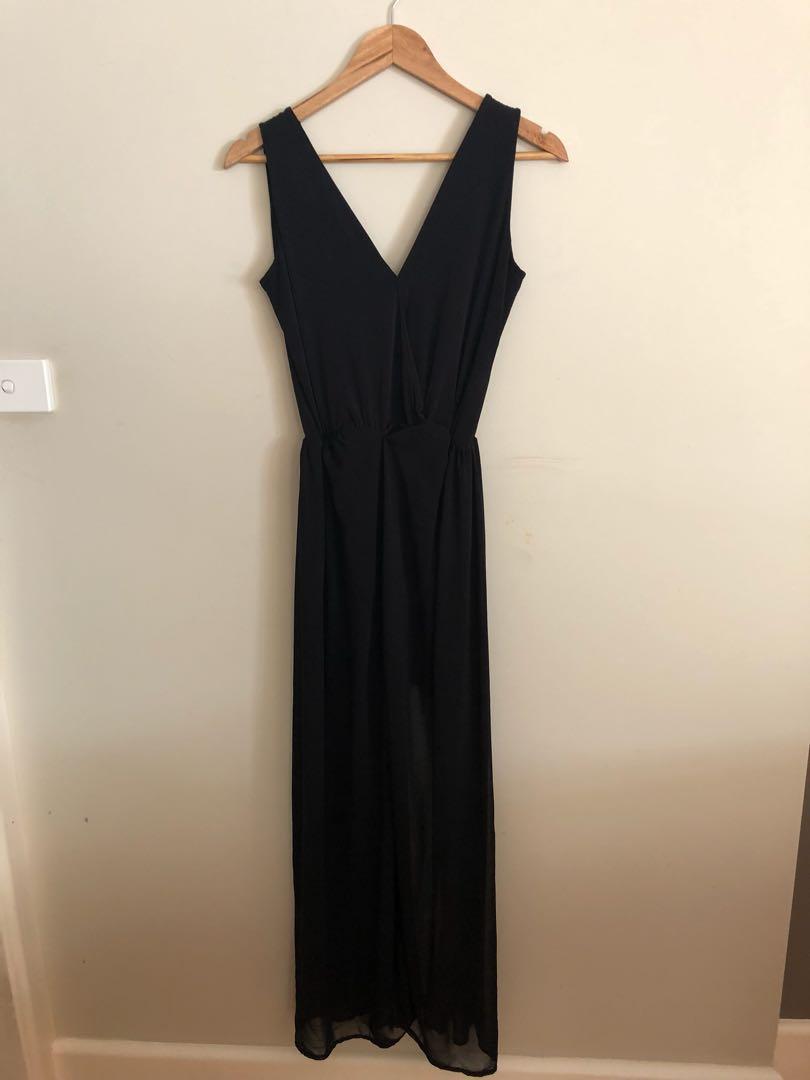 ASOS Black Long Dress