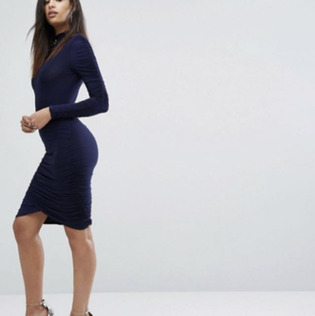 Asos blue dress 14-16 *free postage*