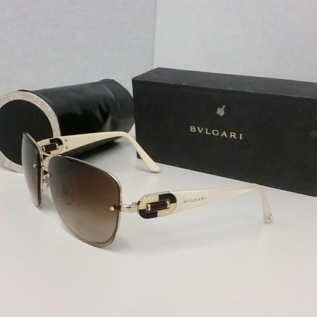 Authentic Bvlgari  Sunglasses 6053B RP$500