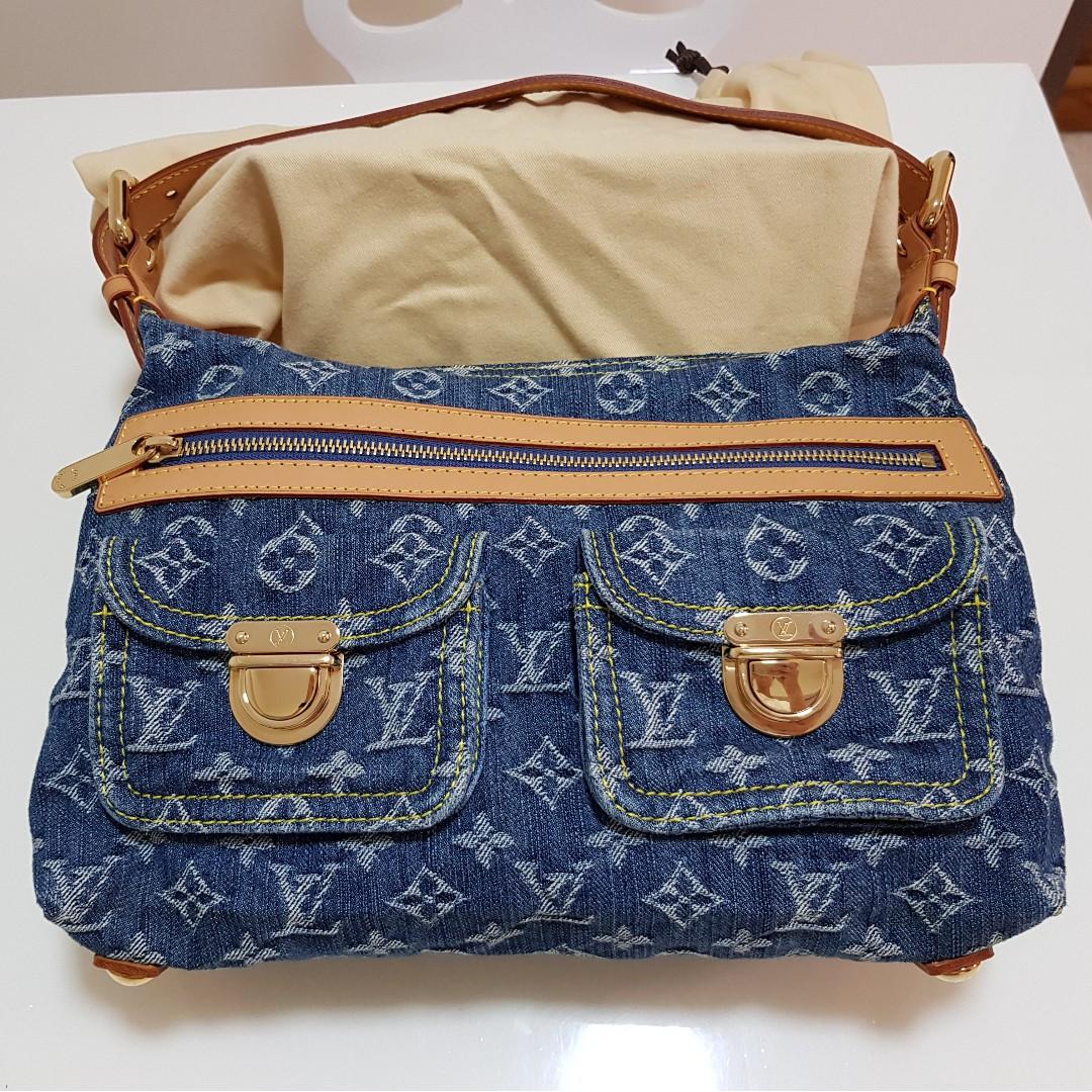 5105707c9d21 Lv Denim Bag