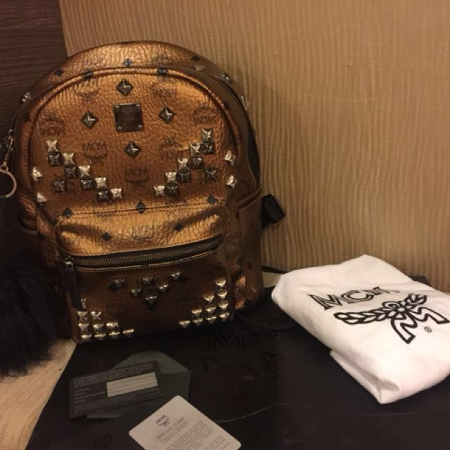 Authentic MCM Back Pack
