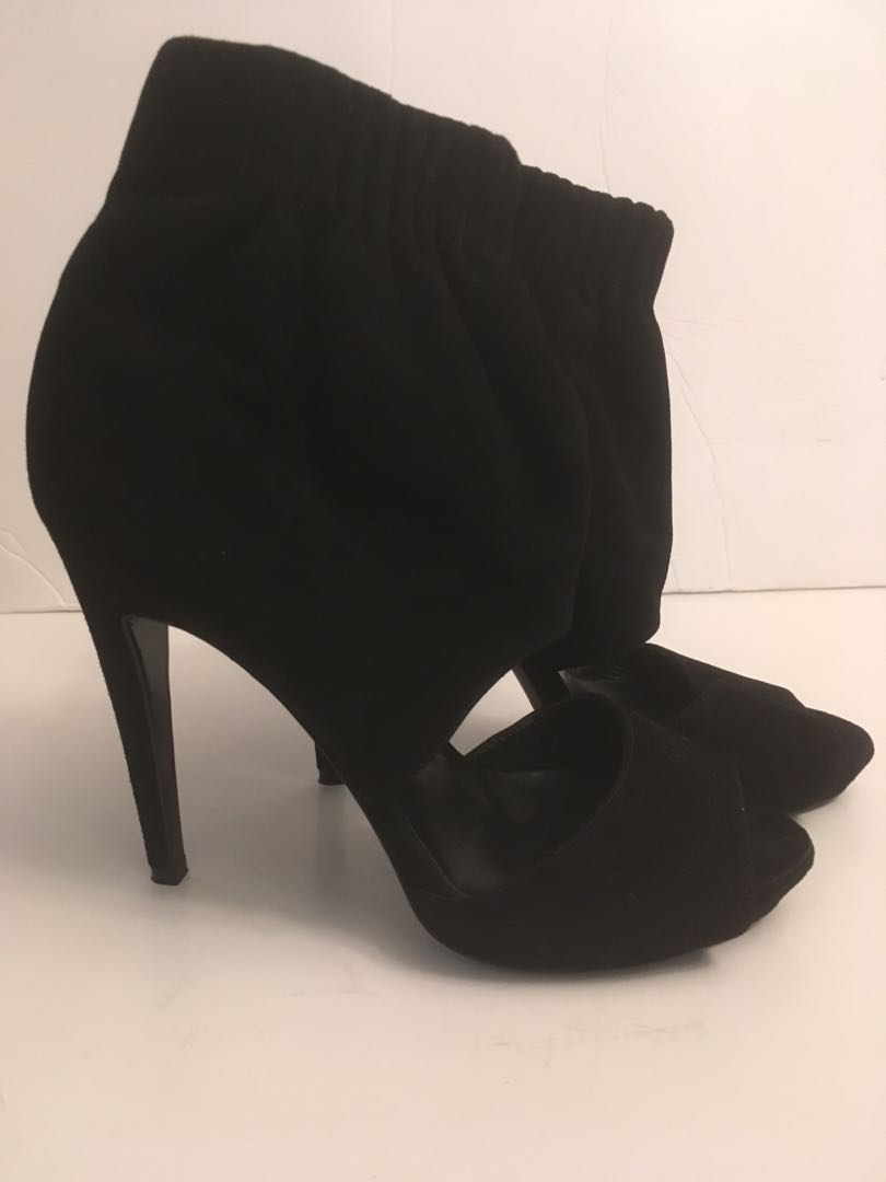 Authentic Pierre Hardy peep toe ankle boots