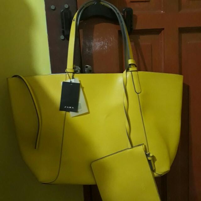 Authentic Zara Reversible Bag