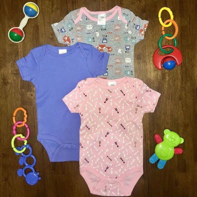 BabyGear 3pc Bodysuit
