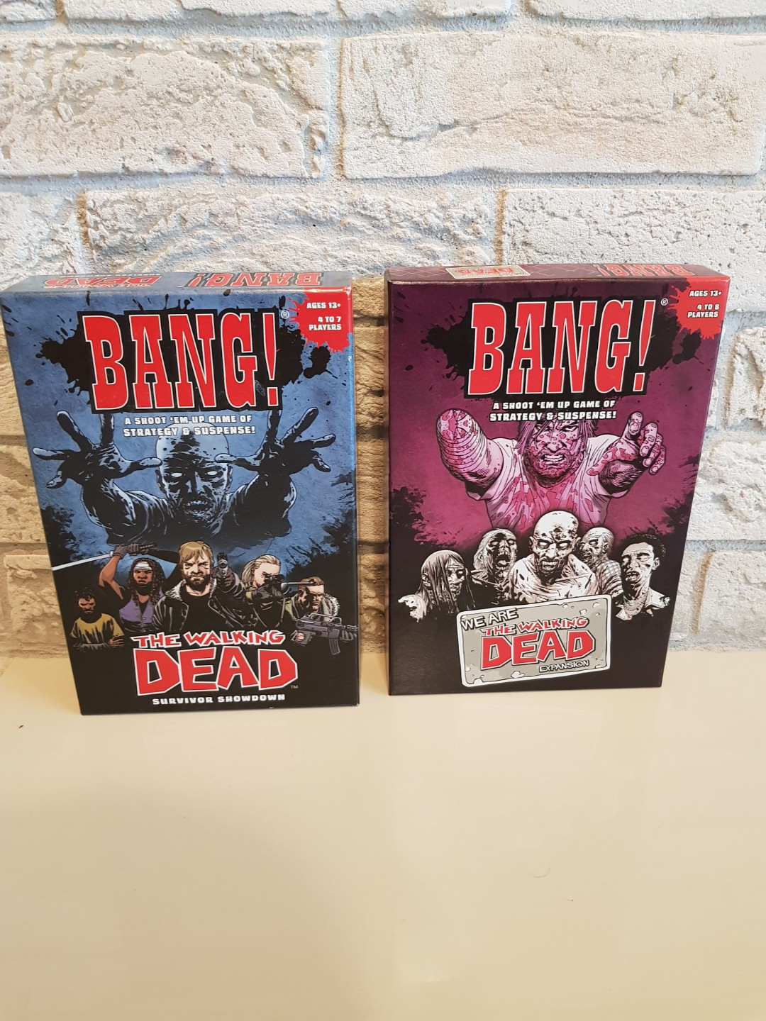 The Walking Dead Expansion Bang