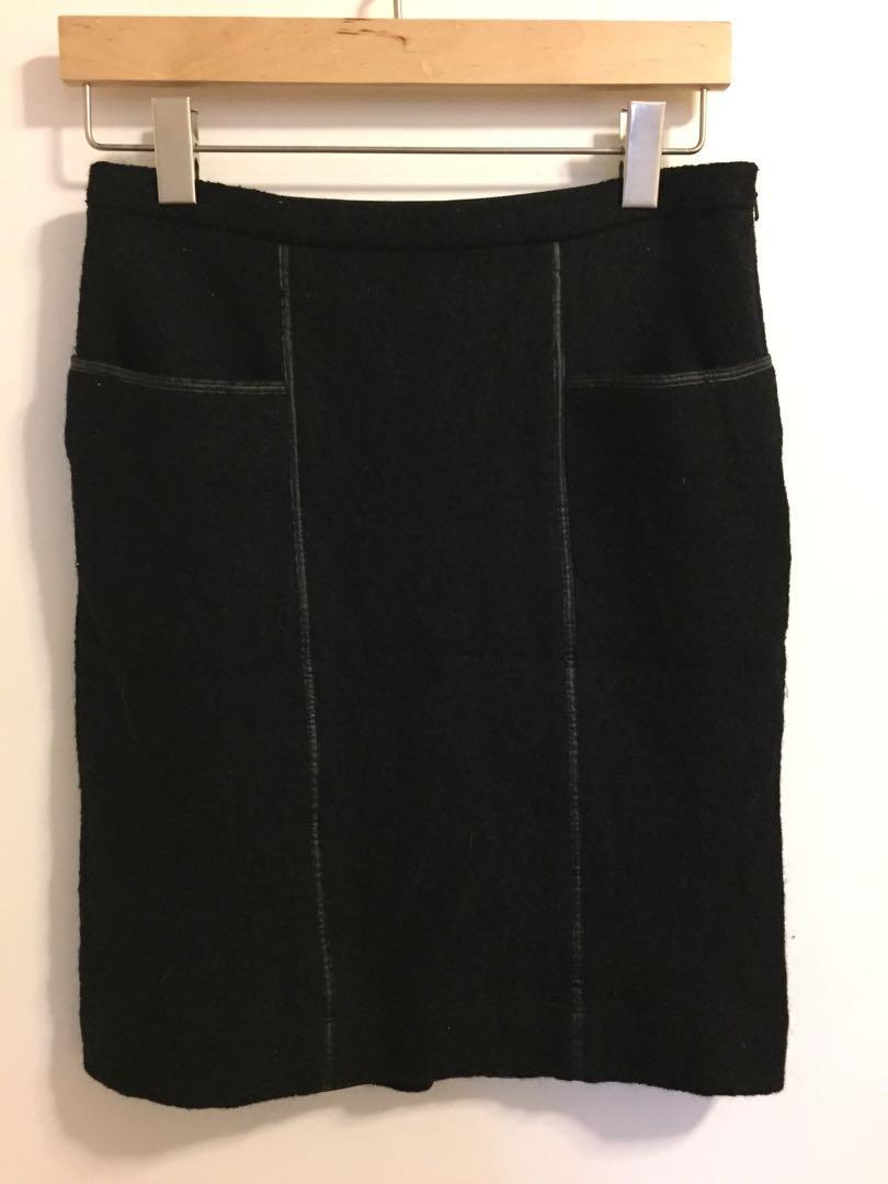 BCBG wool skirt