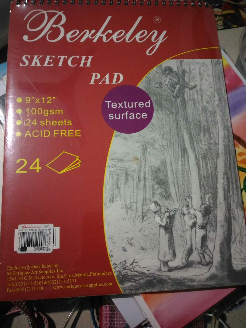 Berkeley 24 sheets Sketch Pad