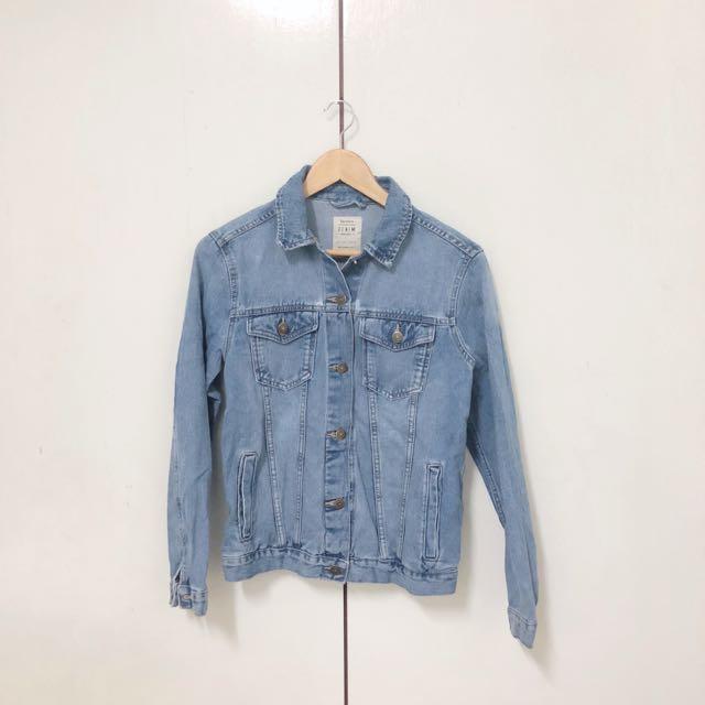 Bershka Oversize Denim Jacket