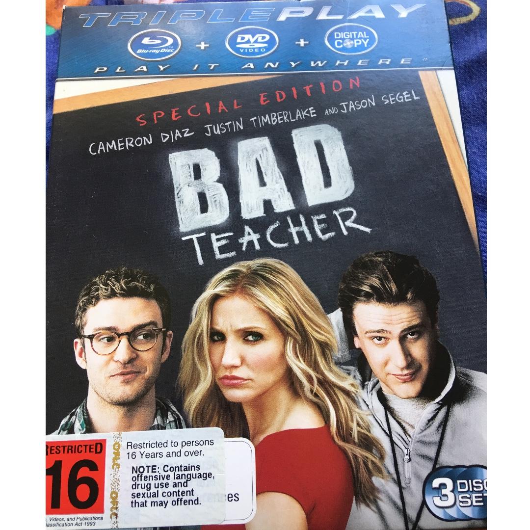 Blurry Disc/DVD/Digital Copy - Bad Teacher
