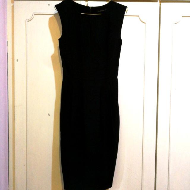 b641cb35608ff BN) AGENDA Dress (Black, body fitting), Women's Fashion, Clothes ...