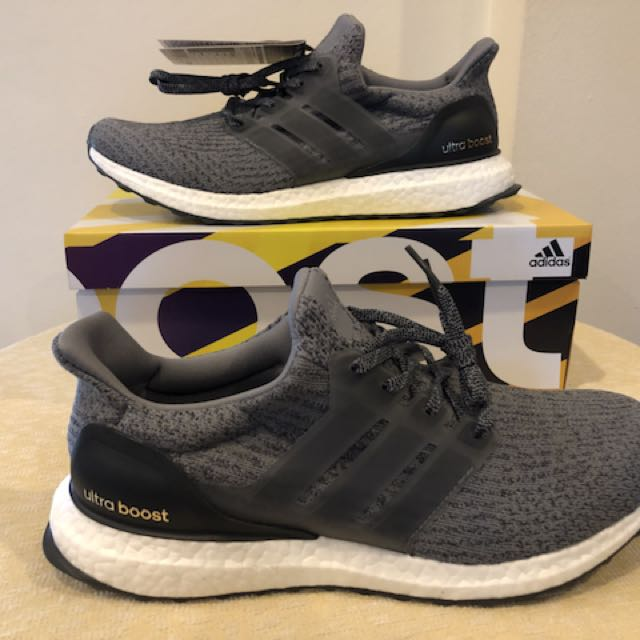 ... outlet store 07f11 eafd4 BNIB Adidas Ultra Boost 3.0 Mystery Grey BA8849  (US 9.5 UK ... 04650930e