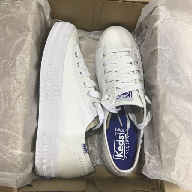a67ed848d86ca BNIB KEDS Triple Kick Canvas Sneakers