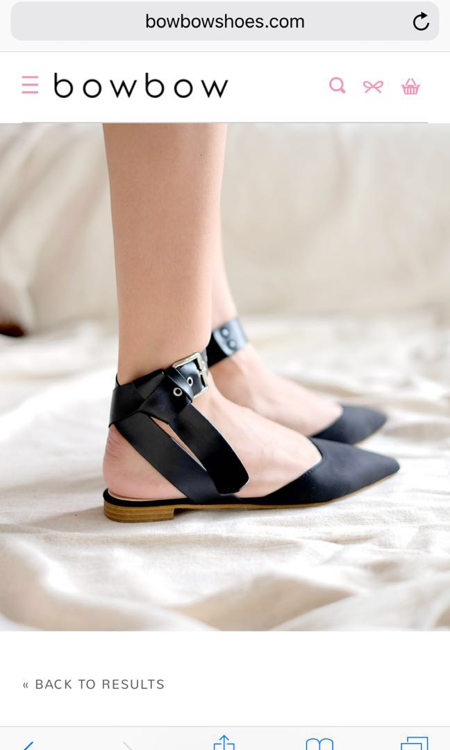 Bow bow shoes flat