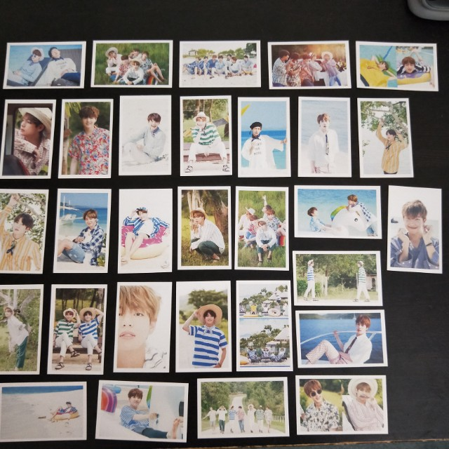 BTS Lomo Cards for every member!!