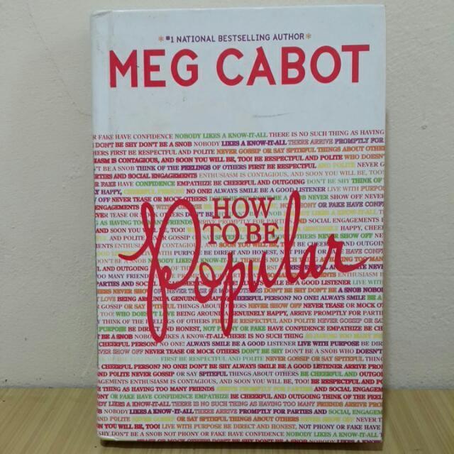 Buku novel how to be popular - meg cabbot