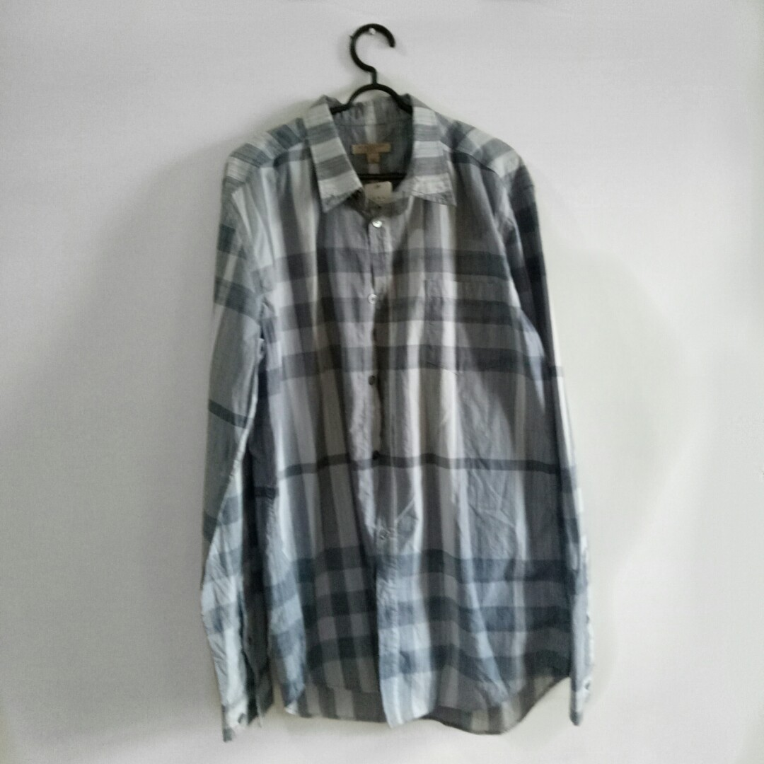 BURBERRY BRIT long shirt patterned