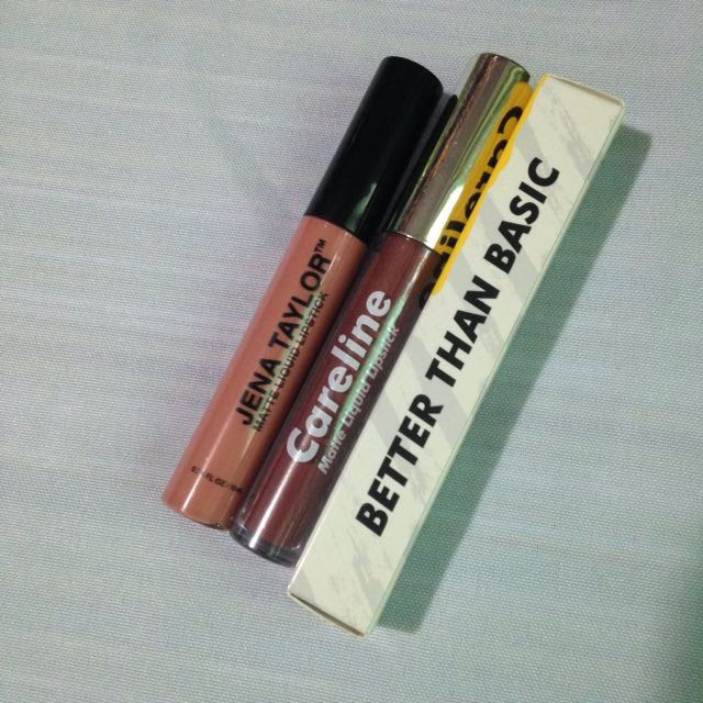 Carousell Exclusive: Nude Liquid Lipstick Bundle