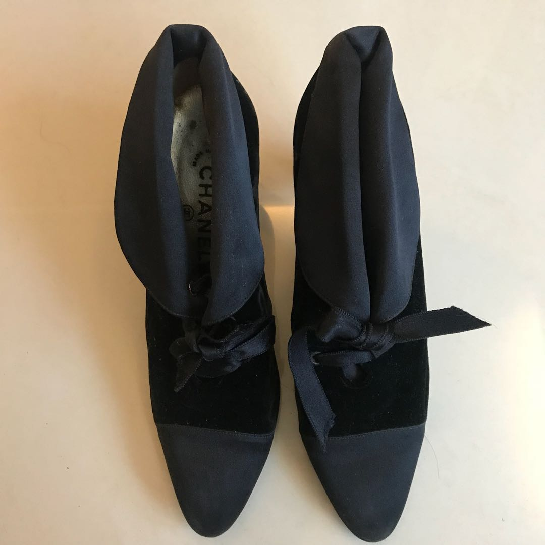 Chanel Black Shoes - Original