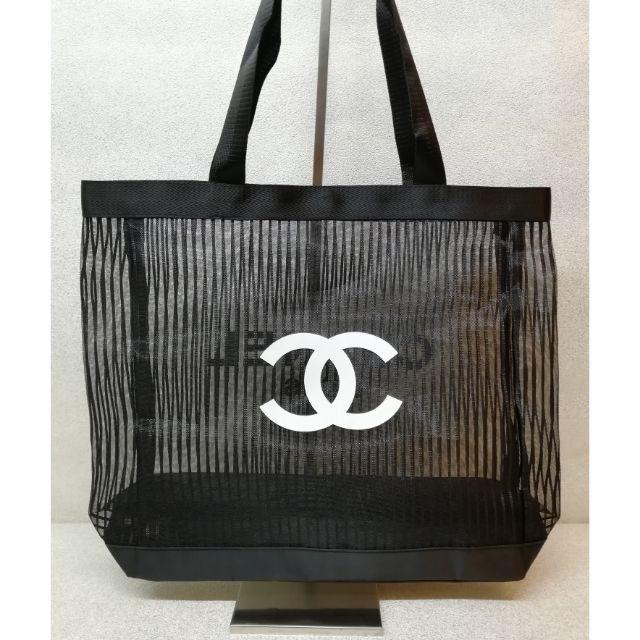 a83e793309ce3 Chanel Transparent Net Tote Bag