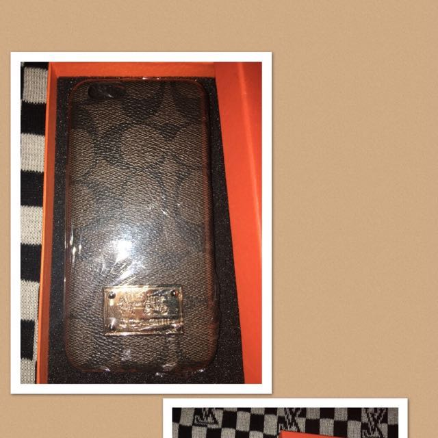 Coach iphone6/6s case