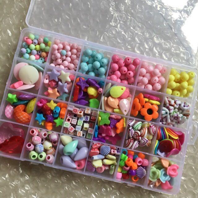 Colorful beads design handmade diy