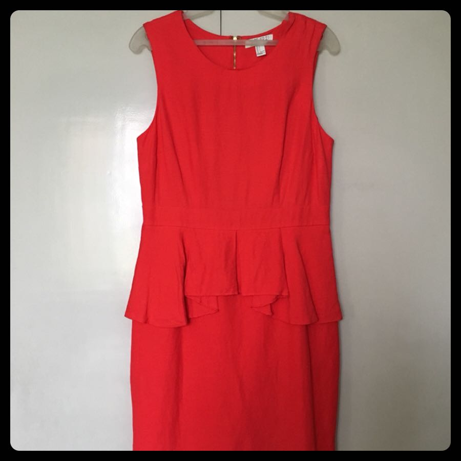 Dress 10: Peplum