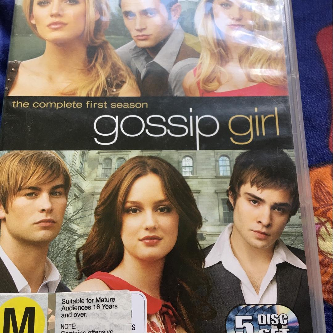 DVD - Gossip Girl Season 1 (5 disc set)