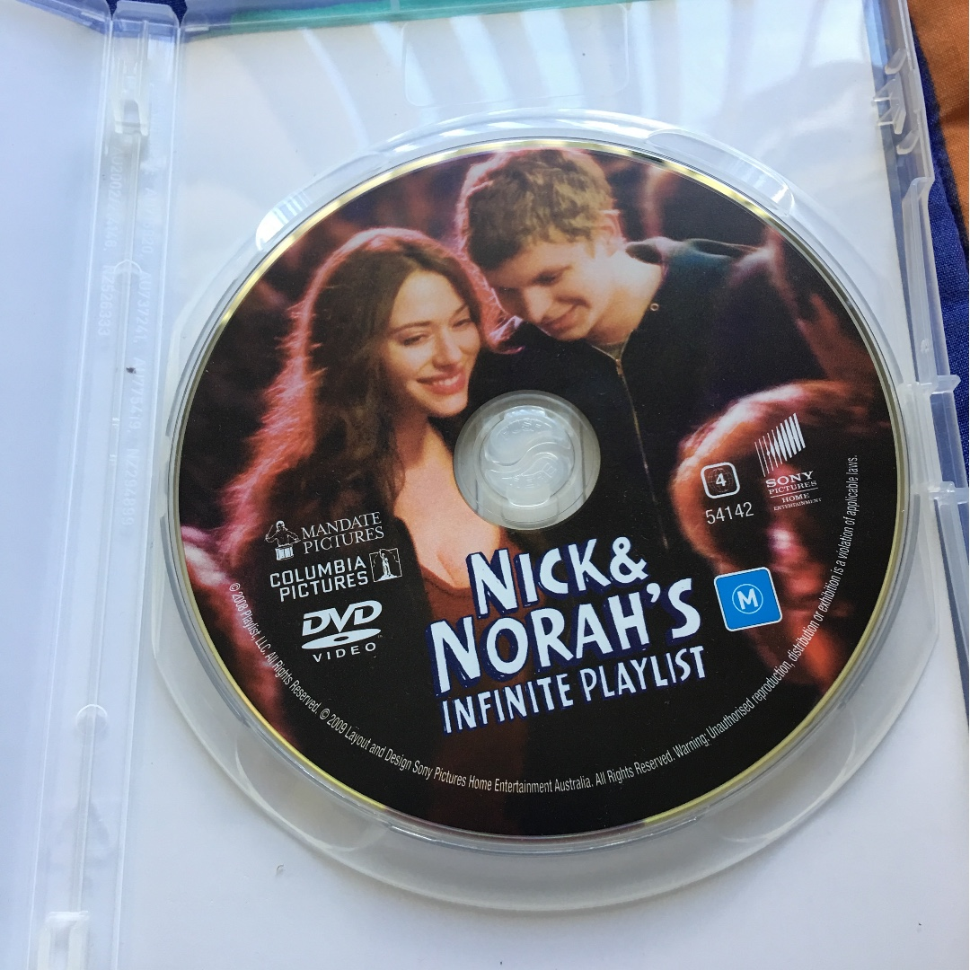 DVD - Nick & Norah's Infinite Playlist