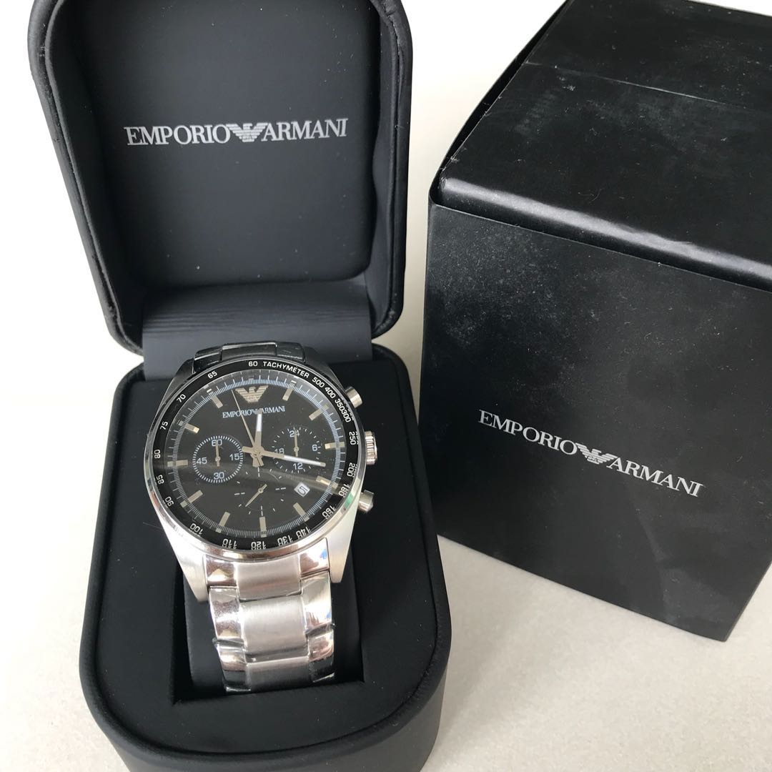 super quality famous brand hot sale Emporio Armani AR5980, Men's Fashion, Watches on Carousell