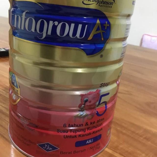 Enfagrow A+ Step 5 Milk Powder Formula Mead Johnson 1.7 kg