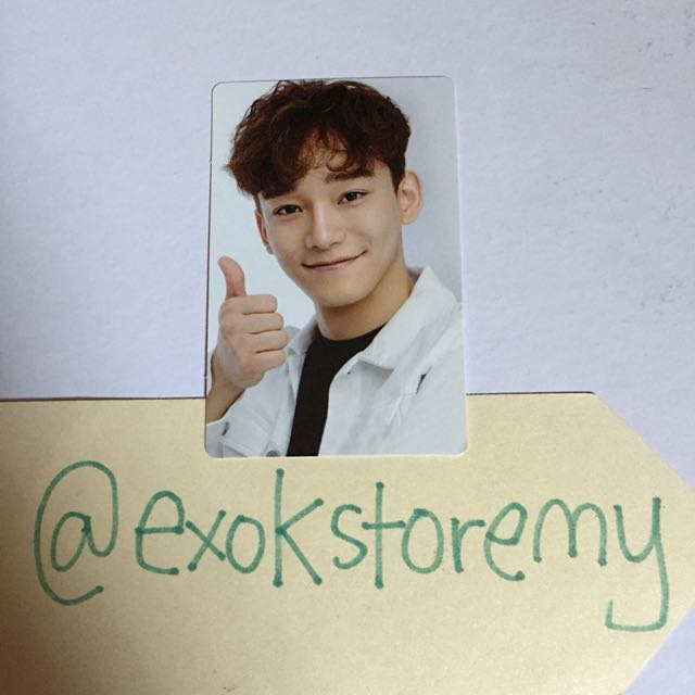 EXO Official SUM Let's Go Elyxion Chen Photocard