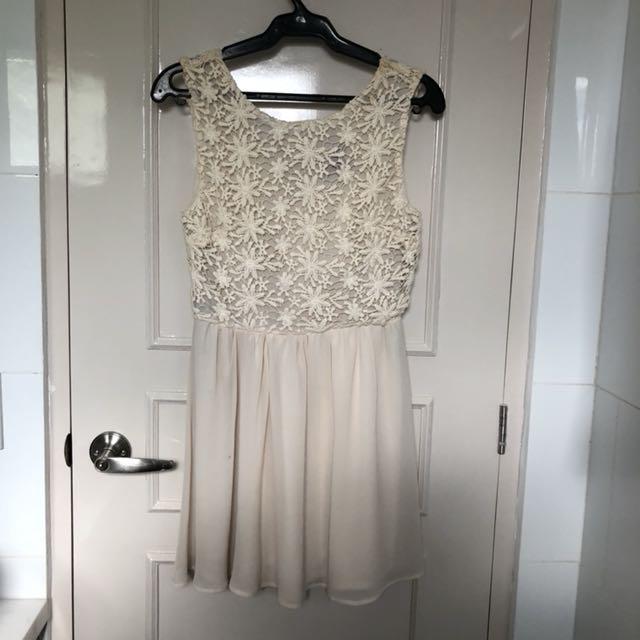 F21 Lacey Flow Dress