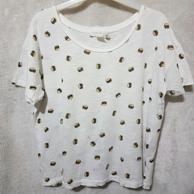 Forever 21 burger top