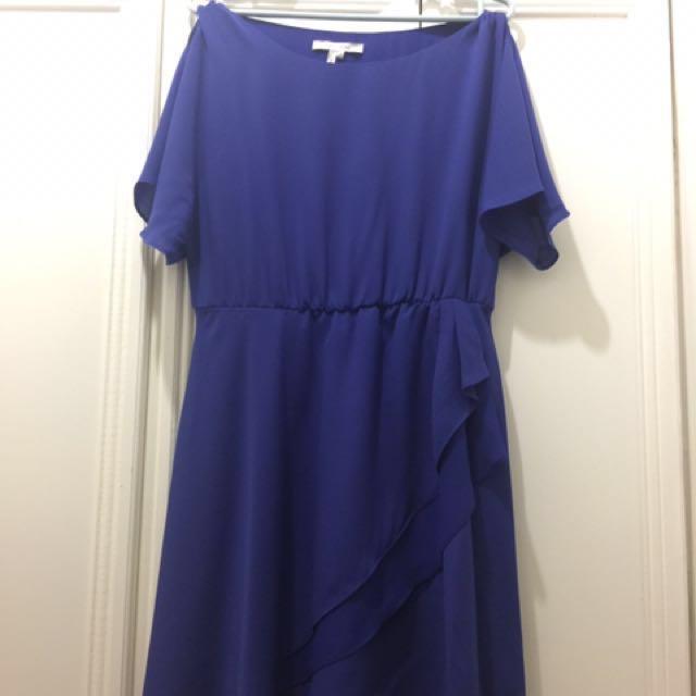 FREE SHIPPING! Royal Blue Cocktail dress