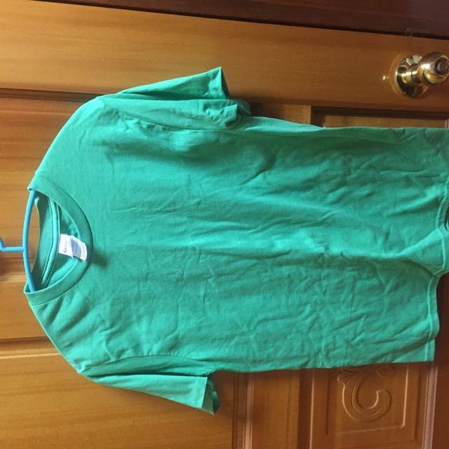 Gildan 綠色 T恤 素踢