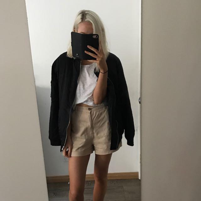 Glassons oversized bomber jacket