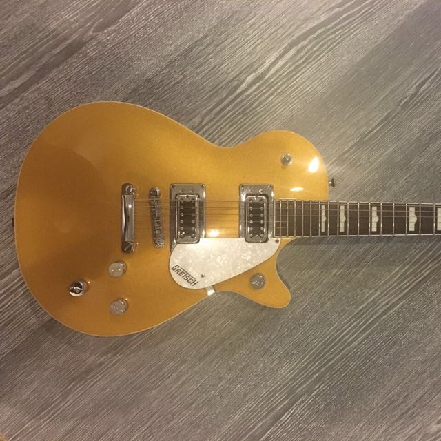 Gold Top Gretsch Electric Guitar