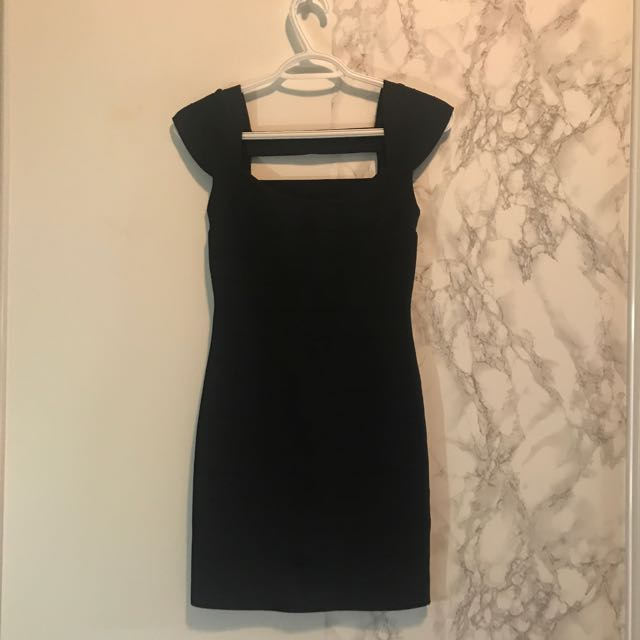 Guess Bandeau Black dress