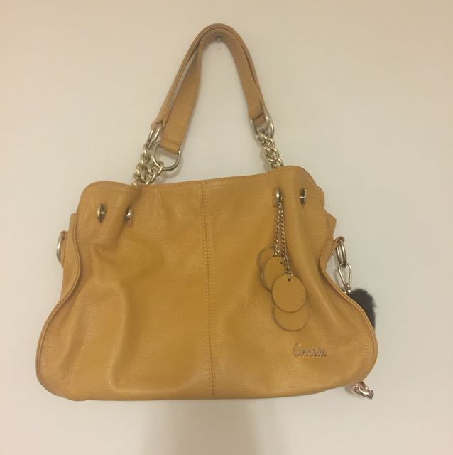 Hand bag [Mustard Yellow]