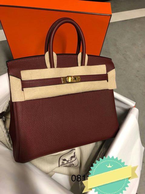c3f381444 Hermes Birkin 25 Rouge H epsom sellier ghw C, Luxury, Bags & Wallets ...