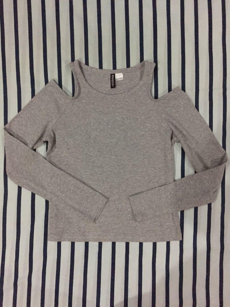 H&M cold shoulder