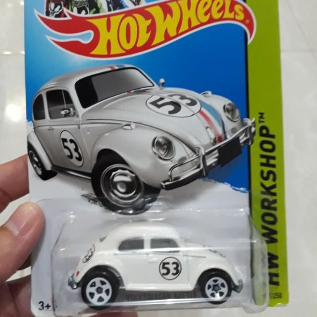 Hotwheels VW Beetle 53