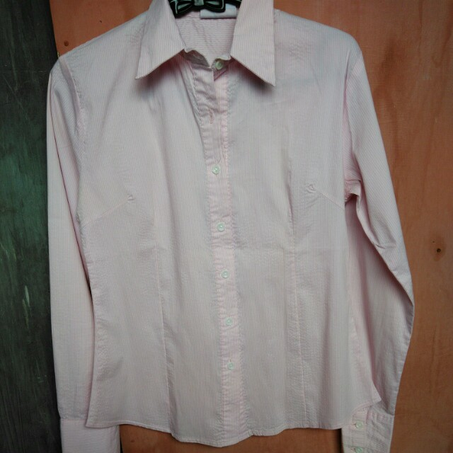 Hypeck pink stripes shirt