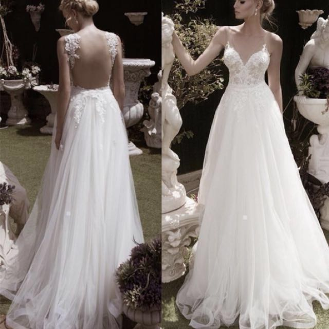 I AM LOOKING FOR A WEDDING GOWN (almost same to this photo)