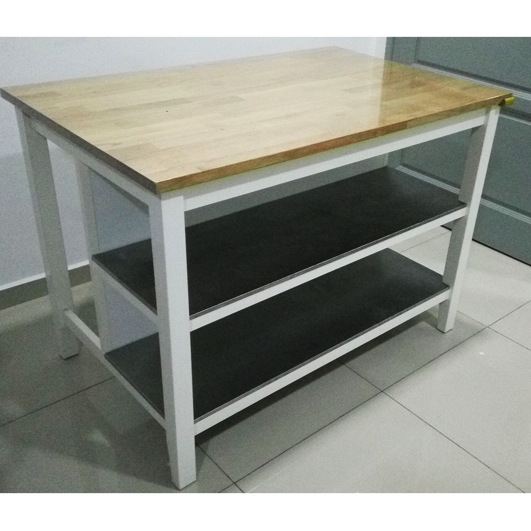 IKEA Stenstorp Kitchen Island, Kitchen & Appliances on Carousell