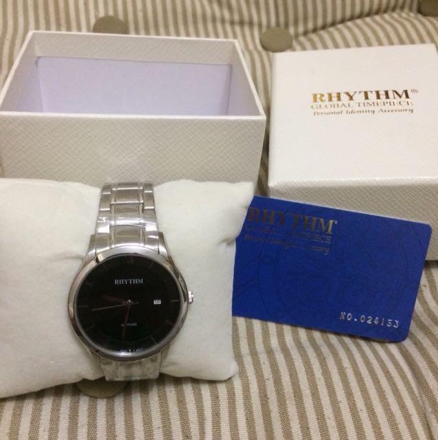 Jam Tangan Rhythm Silver